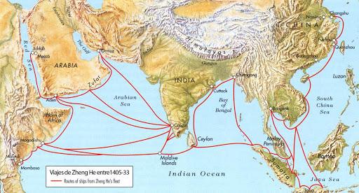 Resultado de imagen de flota del tesoro china
