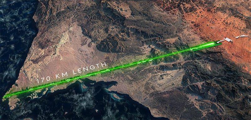 El Proyecto Neom de Arabia Saudita: Un mundo sin NASA.